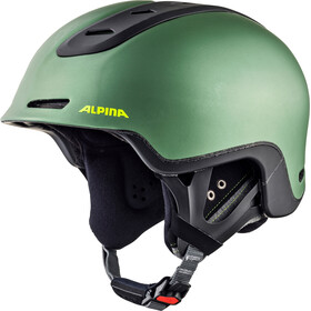 Alpina Spine Casco da sci, moss-green matt